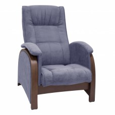 Кресло глайдер модель Balance-2 каркас Орех ткань Verona Denim Blue