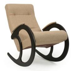 Кресло-качалка модель 3 каркас Венге ткань Мальта-03