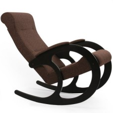 Кресло-качалка модель 3 каркас Венге ткань Мальта-15