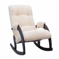 Кресло-качалка модель 67 каркас Венге ткань Verona Vanilla