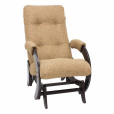 Кресло-качалка глайдер модель 68 каркас Венге ткань Мальта-17