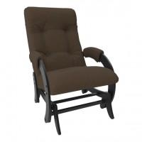 Кресло-качалка глайдер модель 68 каркас Венге ткань Montana-802