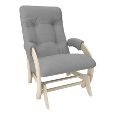 Кресло-качалка глайдер модель 68 каркас Дуб шампань ткань Montana-804