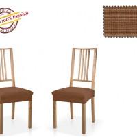 Чехол на сидение стула универсальный Ибица Марон (2 шт)