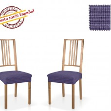 Чехол на сиденье стула универсальный Ибица Азул (2 шт)