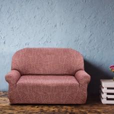 Чехол на двухместный диван универсальный Мальта Рохо