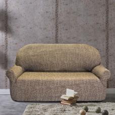 Чехол на трехместный диван универсальный Мальта Марон