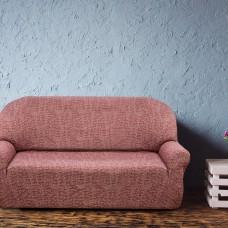 Чехол на трехместный диван универсальный Мальта Рохо