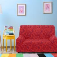 Чехол на двухместный диван Универсальный Данубио Нарания
