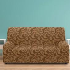 Чехол на трехместный диван универсальный Данубио Марон