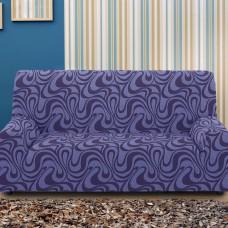Чехол на трехместный диван универсальный Данубио Азул