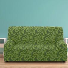 Чехол на трехместный диван универсальный Данубио Верде