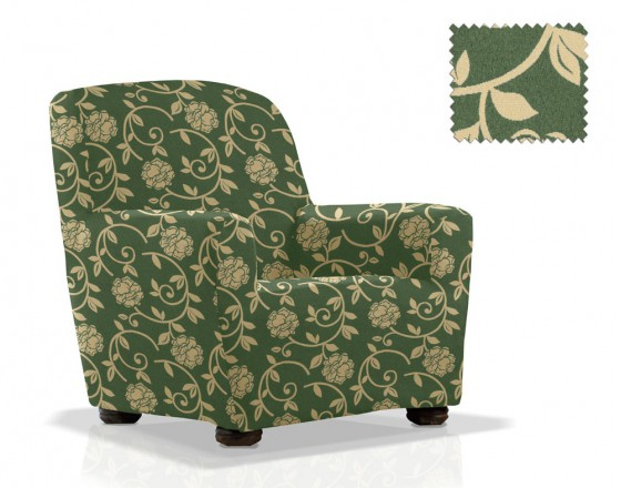 Чехол на кресло универсальный Акапулько Верде