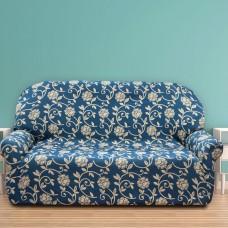 Чехол на трехместный диван универсальный Акапулько Азул