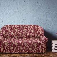 Чехол на трехместный диван. Акапулько Рохо. Универсальный