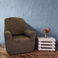 Чехол на кресло универсальный Бостон Марон