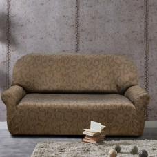 Чехол на трехместный диван универсальный Бостон Марон