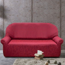 Чехол на трехместный диван универсальный Бостон Рохо