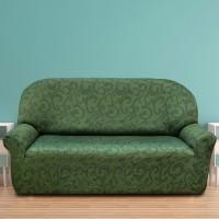 Чехол на трехместный диван универсальный Бостон Верде