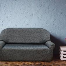 Чехол на трехместный диван универсальный Бостон Грис