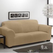 Чехол на трехместный диван универсальный Тейде Беж