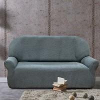 Чехол на трехместный диван универсальный Вена Грис