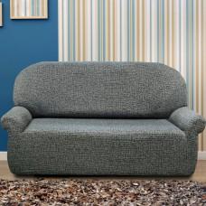 Чехол на трехместный диван универсальный Натуре Бланко