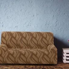 Чехол на трехместный диван универсальный Осака Марон