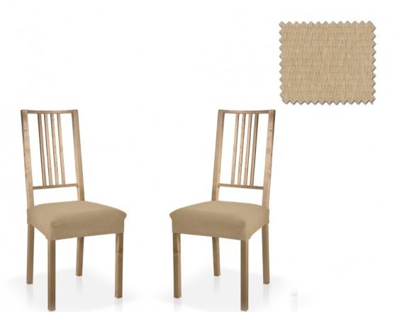 Чехол на сидение стула универсальный Тейде Беж (2 шт)