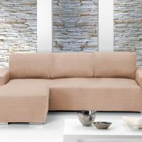 Чехол на угловой диван с выступом слева Европейский Ибица Марфил