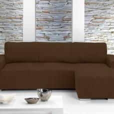 Чехол на угловой диван с выступом справа Европейский Ибица Марон