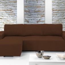Чехол на угловой диван с выступом слева Европейский Тейде Марон