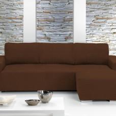 Чехол на угловой диван с выступом справа универсальный Тейде Марон