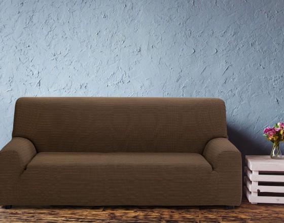 Чехол на четырехместный диван универсальный Ибица Марон