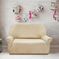 Чехол на двухместный диван универсальный Тоскана Марфил