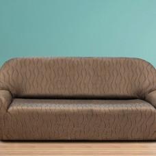 Чехол на четырехместный диван универсальный Тоскана Марон