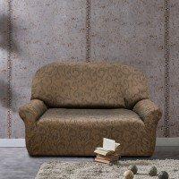 Чехол на двухместный диван универсальный Бостон Марон