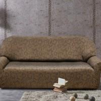 Чехол на четырехместный диван универсальный Бостон Марон