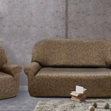 Комплект чехлов Бостон Марон на 3-ёх местный диван и два кресла Универсальный