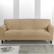 Комплект чехлов (маломерка) Тейде Беж на 3-ёх местный диван и два кресла Универсальный