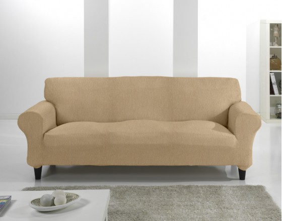 Комплект чехлов на 3-ёх местный диван и два кресла (маломерка) Тейде Беж