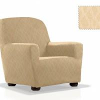 Чехол на кресло универсальный Карен Беж