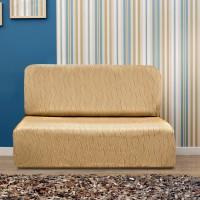 Чехол на диван без подлокотников универсальный Тоскана Беж