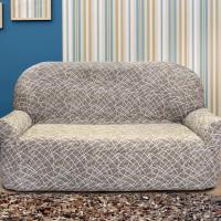 Чехол на диван трехместный. Греция Висон. Универсальный