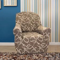 Чехол на кресло универсальный Персия Марон
