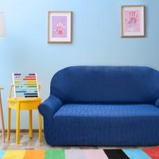 Чехол на трехместный диван универсальный Тоскана Азул