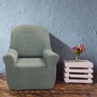 Чехол на кресло универсальный Елегант Бланко