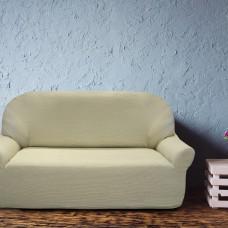 Чехол на трехместный диван универсальный Елегант Беж