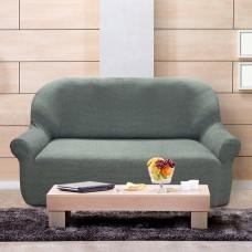 Чехол на трехместный диван универсальный Елегант Бланко