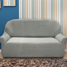 Чехол на трехместный диван универсальный Елегант Грис